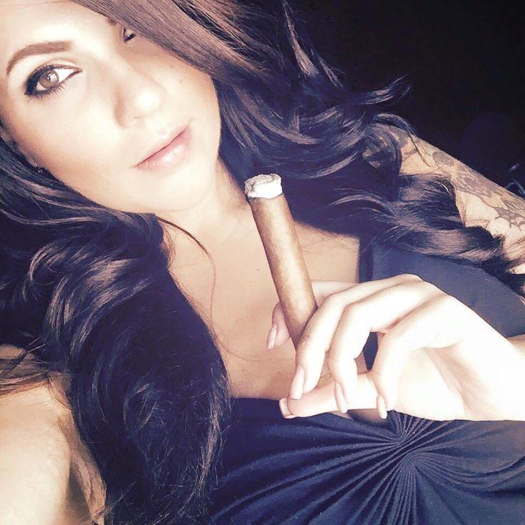 stick sucking cigar lady