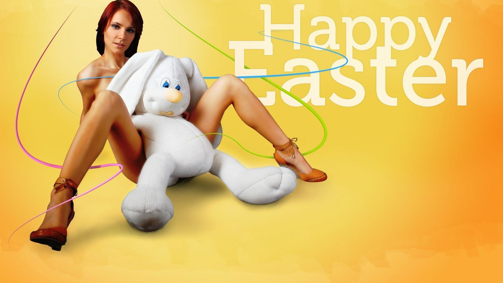 hot easter bunny naked