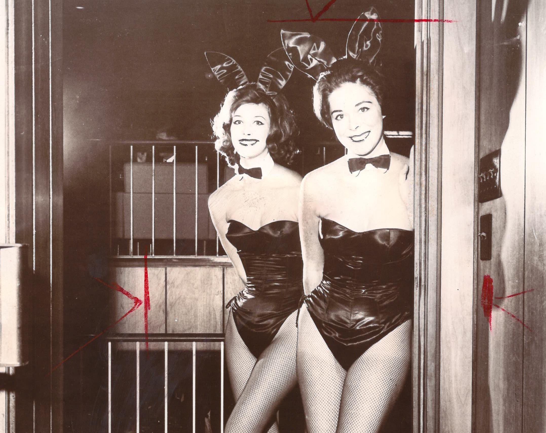 Bunny Ears 100 Vintage Playboy Photos Cigar Monkeys