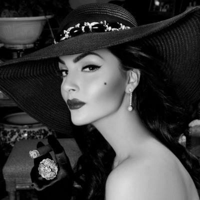 Elegante cigar ladies smoke hat hot