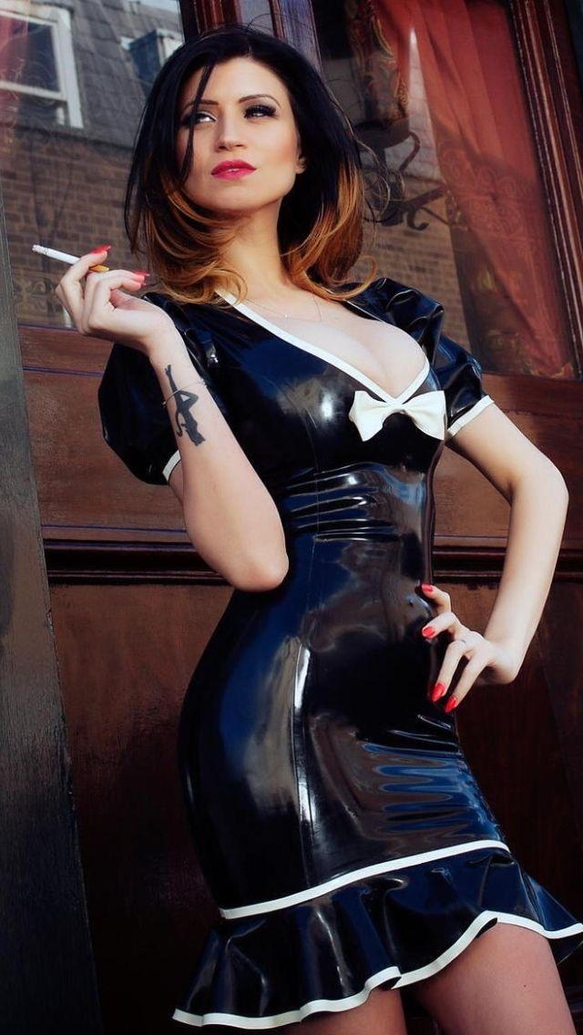 BEST 60 Latex Fetish Cigar Ladies - The CigarMonkeys