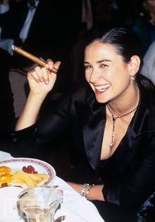 film stars cigar smoke