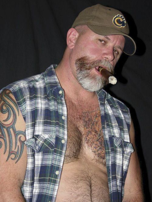 Hairy fetish cigar
