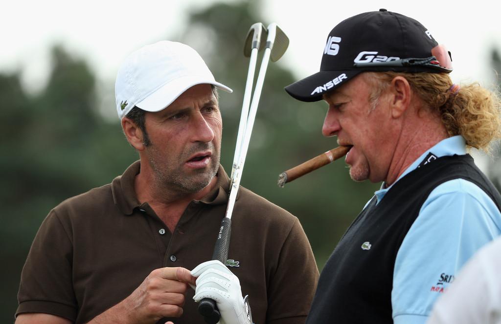 Miguel Ángel Jiménez Rodríguez – golf and cigar