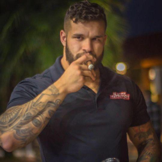 Rugged Men With Cigar Cigar Monkeys