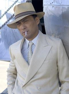 ken watanabe smoking cigarette cigar - cigarmonkeys.com - japan